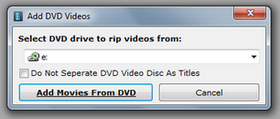 Rip DVDs